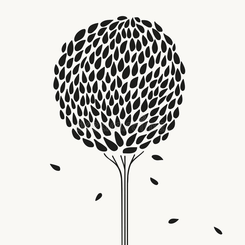 Τυποποιημένο δέντρο απεικόνιση αποθεμάτων
