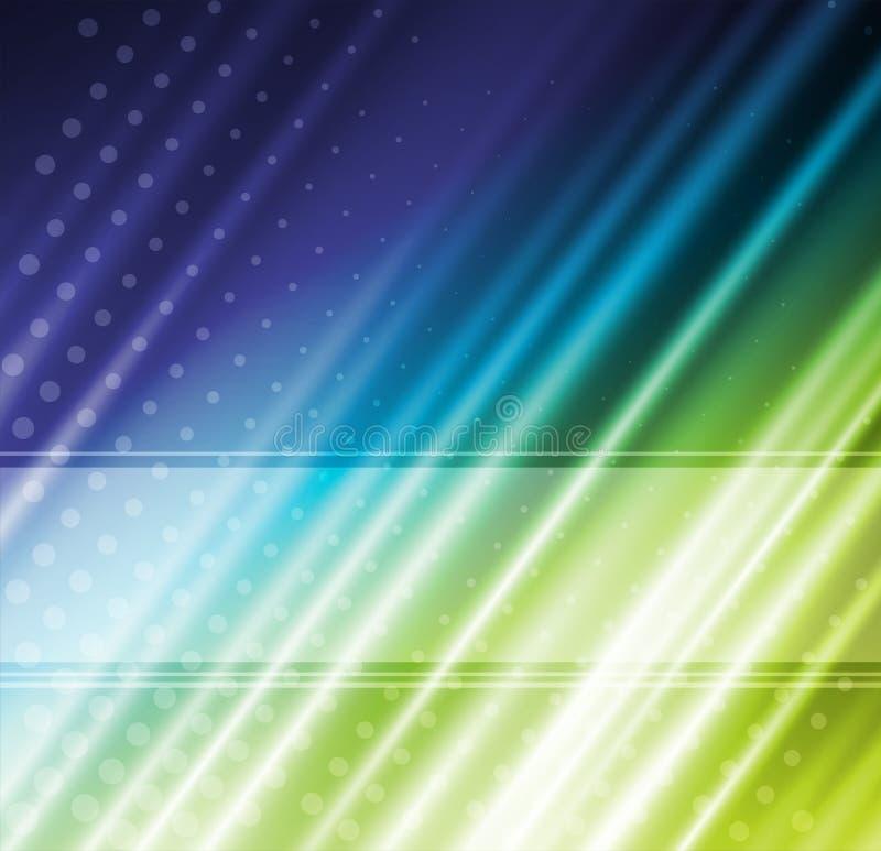 Αφηρημένο υπόβαθρο γραμμών διακοπών smoth διανυσματική απεικόνιση