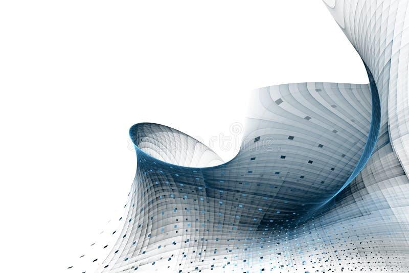 Αφηρημένο υπόβαθρο επιχειρησιακής επιστήμης ή τεχνολογίας διανυσματική απεικόνιση