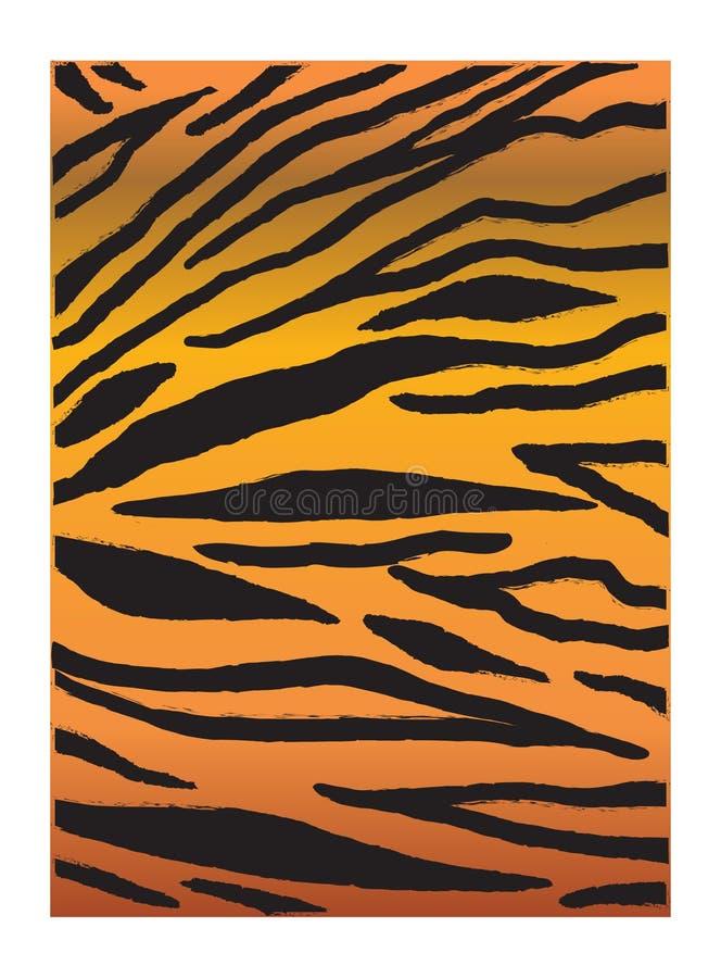 Αφηρημένο υπόβαθρο δερμάτων τιγρών ελεύθερη απεικόνιση δικαιώματος