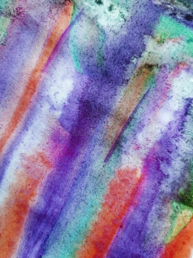 Αφηρημένο υπόβαθρο, ζωγραφισμένη στο χέρι σύσταση, ζωγραφική watercolor, πτώσεις του χρώματος, κηλίδες χρωμάτων Σχέδιο για τα υπό στοκ εικόνες με δικαίωμα ελεύθερης χρήσης