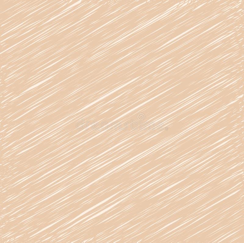 Αφηρημένο υπόβαθρο, καφετί χρώμα σύστασης γραμμών διάνυσμα και illust ελεύθερη απεικόνιση δικαιώματος
