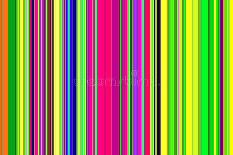Αφηρημένο υπόβαθρο με τις γραμμές στα πράσινα, χρυσά, καφετιά, ρόδινα, ιώδη χρώματα διανυσματική απεικόνιση