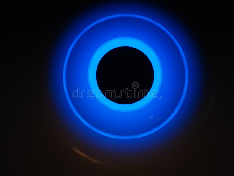 Αφηρημένο υπόβαθρο με τους κύκλους, άβυσσος στοκ φωτογραφία