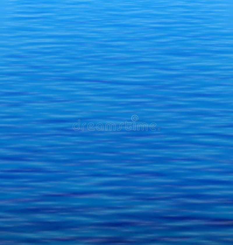 Αφηρημένο υπόβαθρο νερού με τον κυματισμό ελεύθερη απεικόνιση δικαιώματος