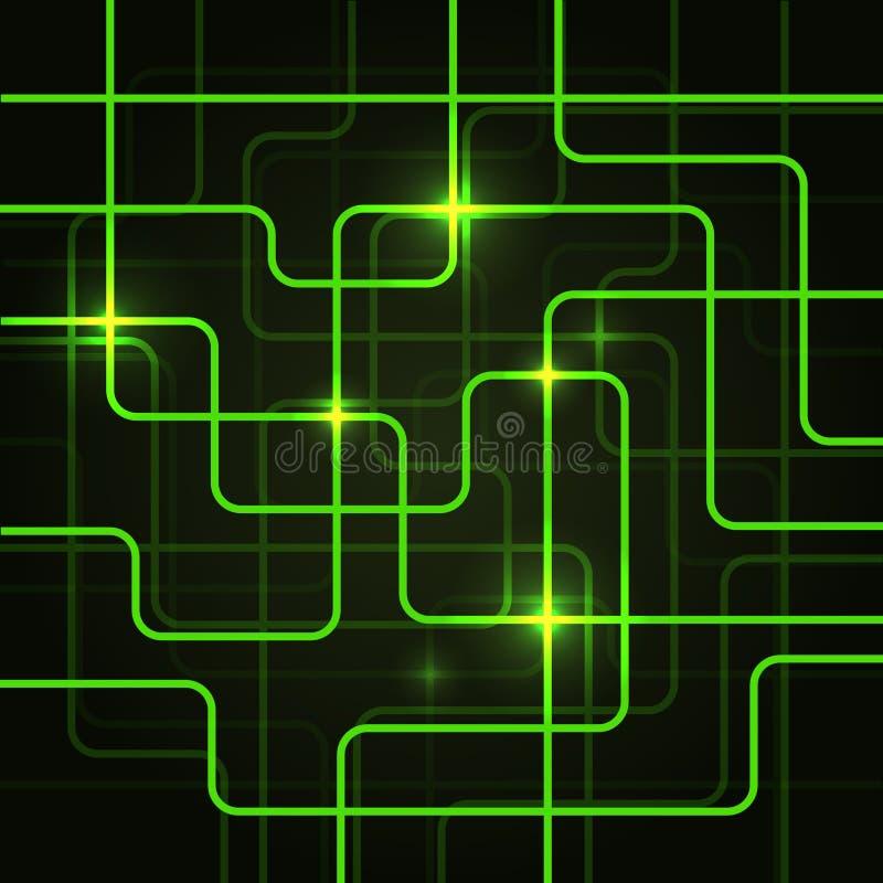 Αφηρημένο υπόβαθρο πινάκων κυκλωμάτων ηλεκτρικό διανυσματική απεικόνιση