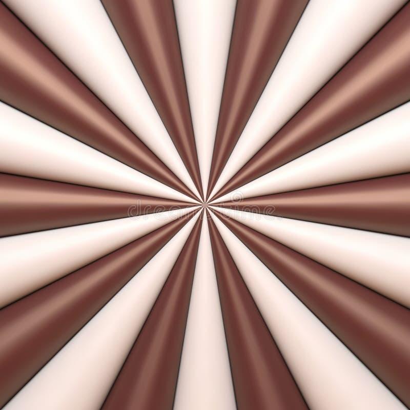 Αφηρημένο υπόβαθρο σοκολάτας και κρέμας ελεύθερη απεικόνιση δικαιώματος