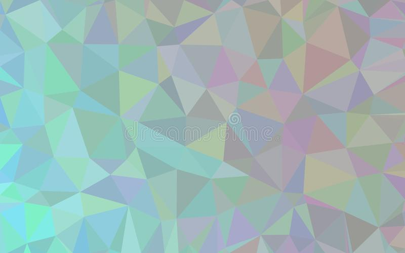 Αφηρημένο υπόβαθρο σχεδίων πολυγώνων απεικόνιση αποθεμάτων