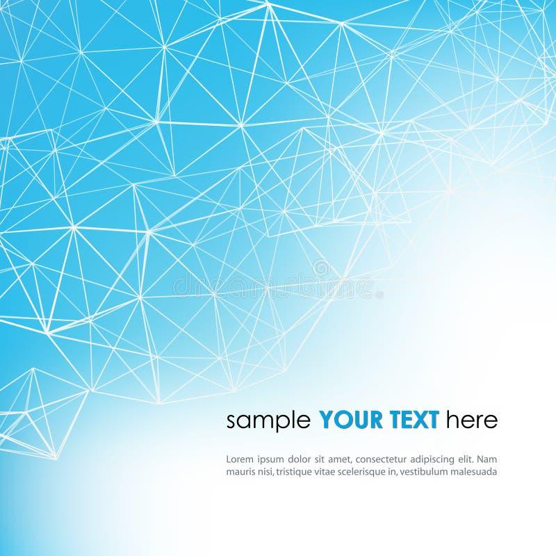 Αφηρημένο υπόβαθρο τεχνολογίας στο χρώμα ελεύθερη απεικόνιση δικαιώματος