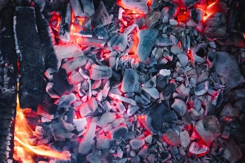 Αφηρημένο υπόβαθρο του καψίματος των ανθράκων στοκ φωτογραφία με δικαίωμα ελεύθερης χρήσης