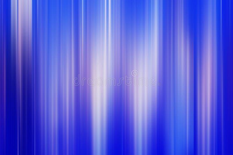 Αφηρημένο υπόβαθρο των ελαφριών κάθετων λωρίδων σε ένα μπλε backgrou ελεύθερη απεικόνιση δικαιώματος