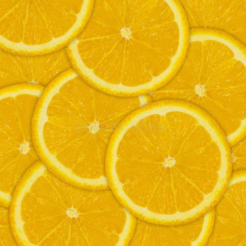 Αφηρημένο υπόβαθρο των πορτοκαλιών φετών φρούτων στοκ εικόνες