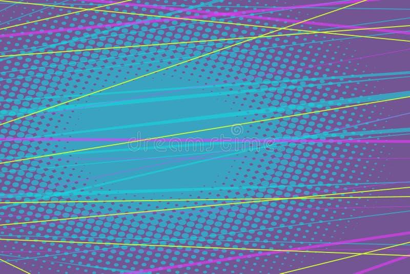Αφηρημένο υπόβαθρο χρωματισμένων γραμμών ελεύθερη απεικόνιση δικαιώματος