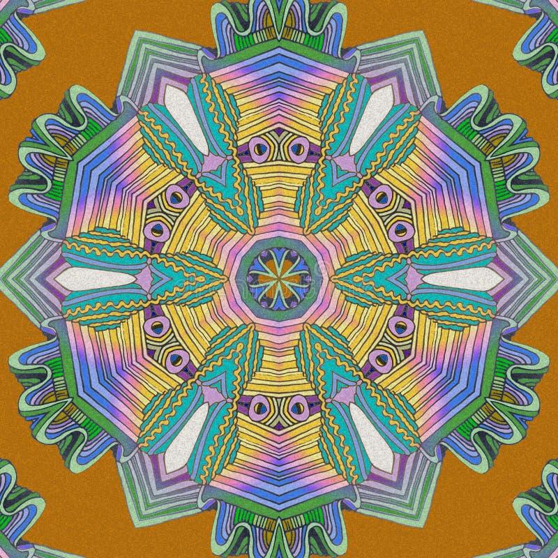 Αφηρημένο υπόβαθρο χρώματος Γραμμές χρώματος διανυσματική απεικόνιση