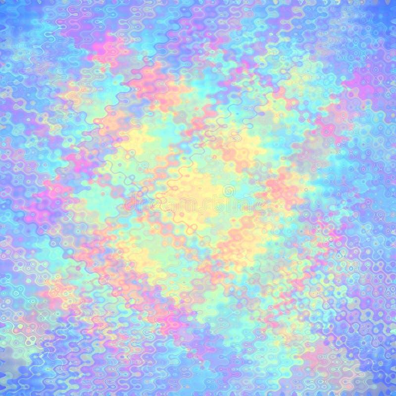 Αφηρημένο υπόβαθρο χρώματος κρητιδογραφιών απεικόνιση αποθεμάτων