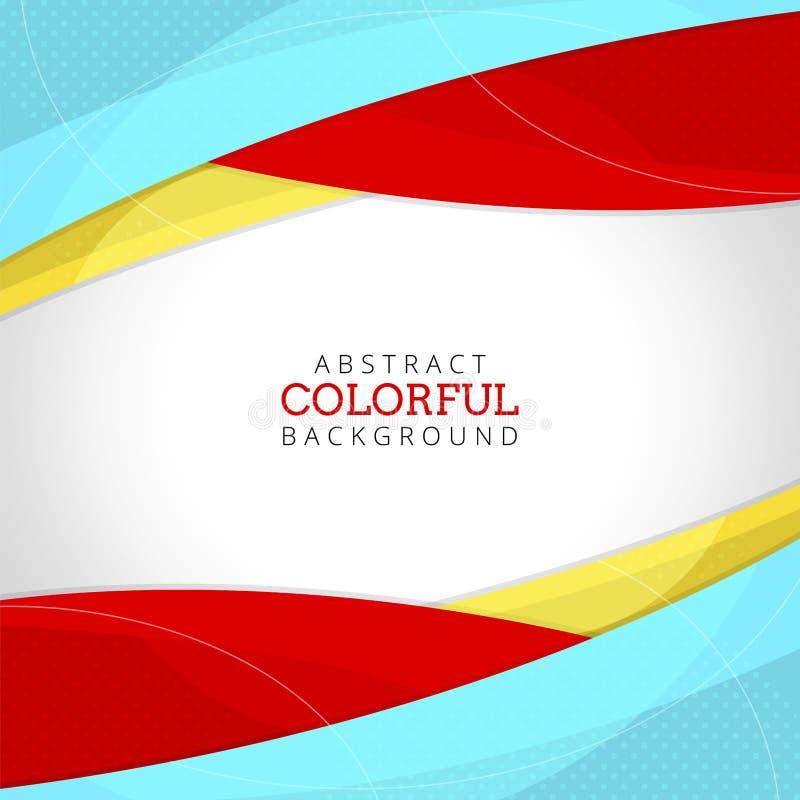 Αφηρημένο υπόβαθρο χρώματος νέου κυμάτων ζωηρόχρωμο στοκ εικόνα με δικαίωμα ελεύθερης χρήσης