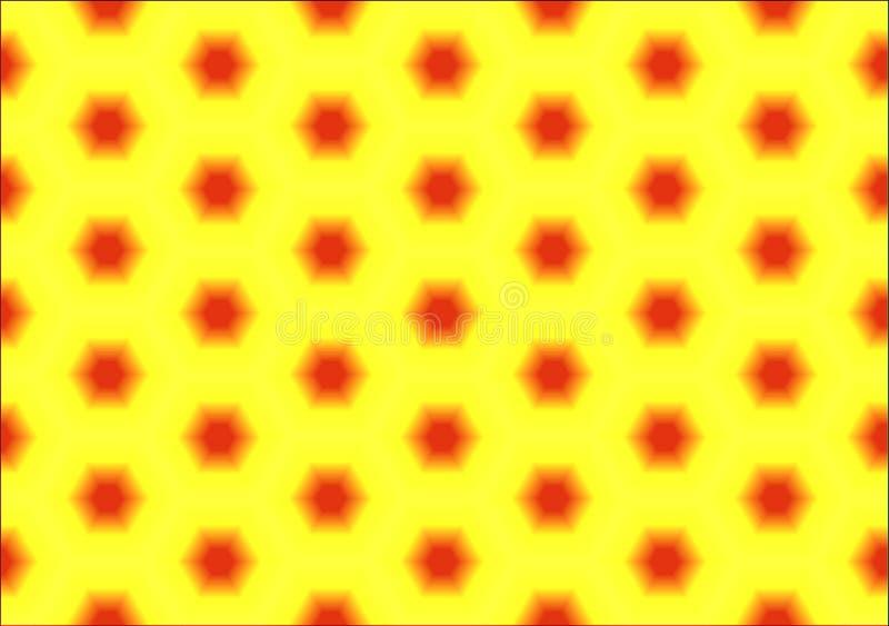 Αφηρημένο υπόβαθρο hexagons σε ένα χρωματισμένο υπόβαθρο Άνευ ραφής σύσταση στοκ εικόνα με δικαίωμα ελεύθερης χρήσης