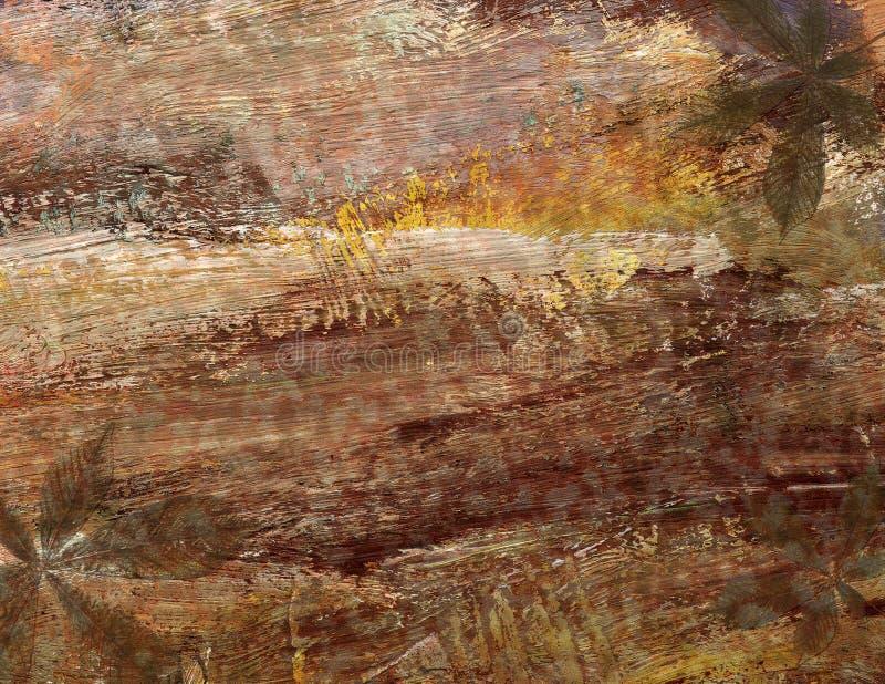 Αφηρημένο υπόβαθρο watercolor με τα αφηρημένα σχέδια χρώματος στοκ φωτογραφία με δικαίωμα ελεύθερης χρήσης