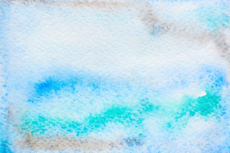 Αφηρημένο υπόβαθρο watercolor πολύχρωμο ελεύθερη απεικόνιση δικαιώματος
