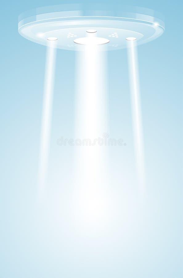 Αφηρημένο φως γυαλιού με τις ακτίνες ελεύθερη απεικόνιση δικαιώματος
