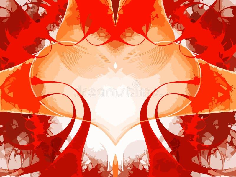 Αφηρημένο φόντο χρώματος τέχνης (ταπετσαρία). ελεύθερη απεικόνιση δικαιώματος