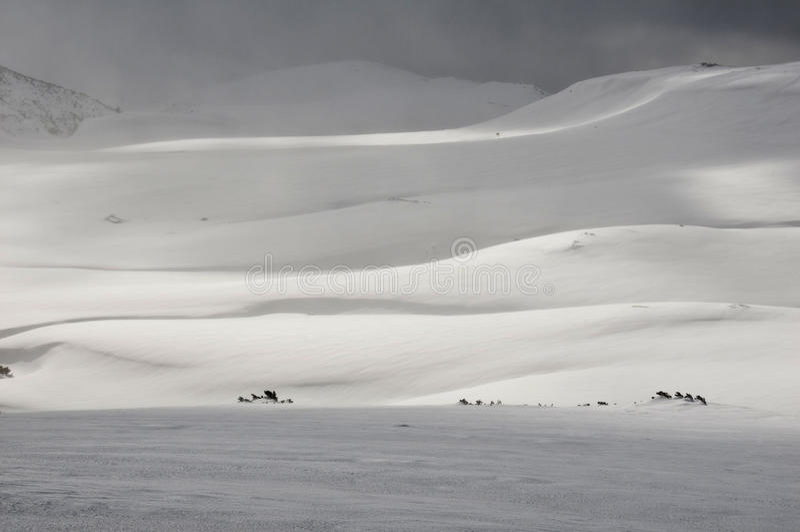 αφηρημένο χιόνι στοκ φωτογραφίες