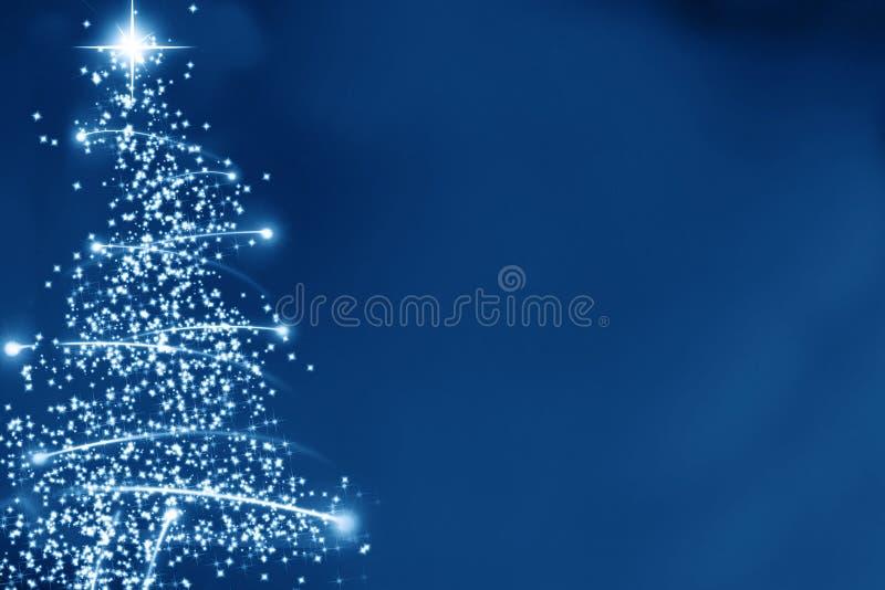 Αφηρημένο χριστουγεννιάτικο δέντρο διανυσματική απεικόνιση