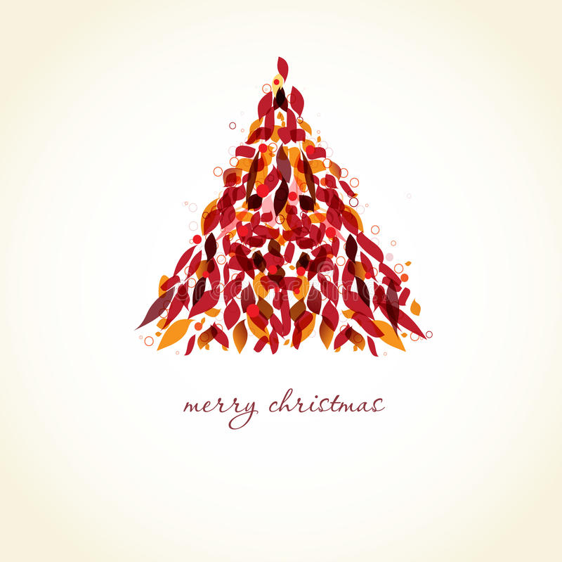 Download αφηρημένο χριστουγεννιάτ& διανυσματική απεικόνιση. εικονογραφία από πράσινος - 17051049