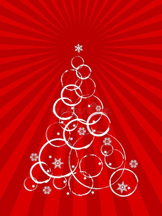 αφηρημένο χριστουγεννιάτ&i απεικόνιση αποθεμάτων