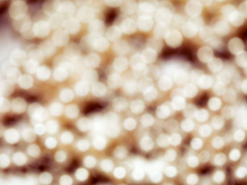 Αφηρημένο χρυσό λαμπρό θολωμένο υπόβαθρο στοκ εικόνες με δικαίωμα ελεύθερης χρήσης