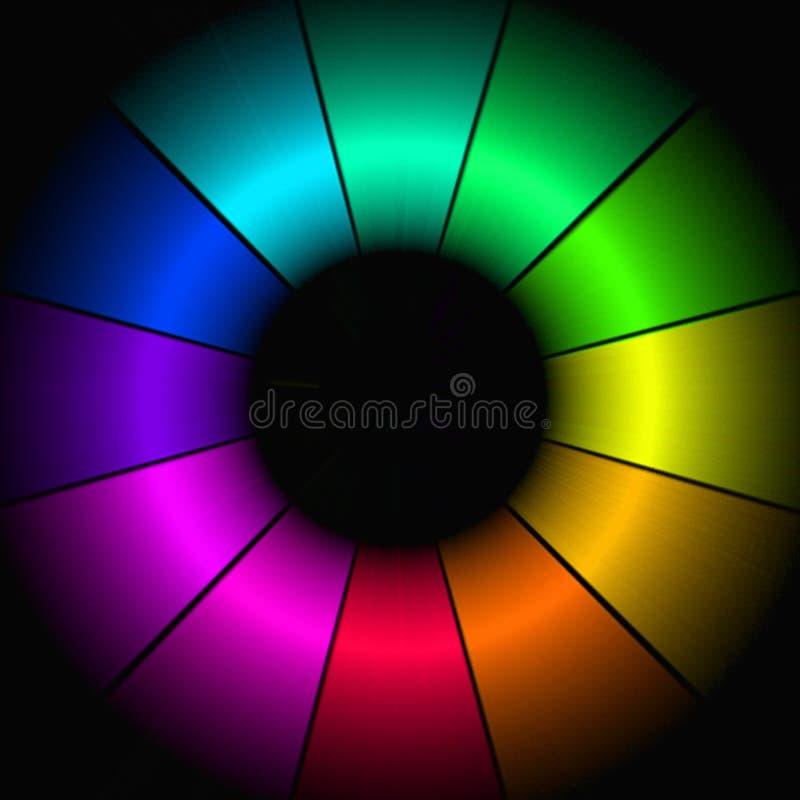 αφηρημένο χρώμα ανασκόπησης απεικόνιση αποθεμάτων