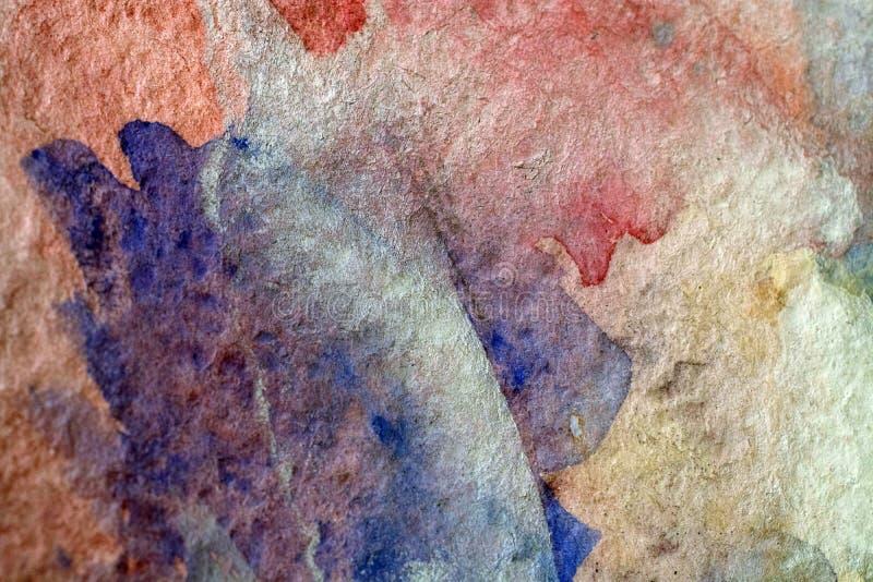 Αφηρημένο χρώμα τέχνης ελεύθερη απεικόνιση δικαιώματος