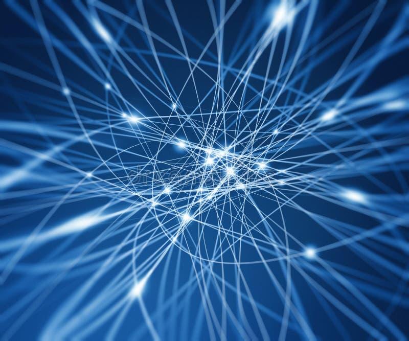 αφηρημένο ψηφιακό δίκτυο απεικόνιση αποθεμάτων