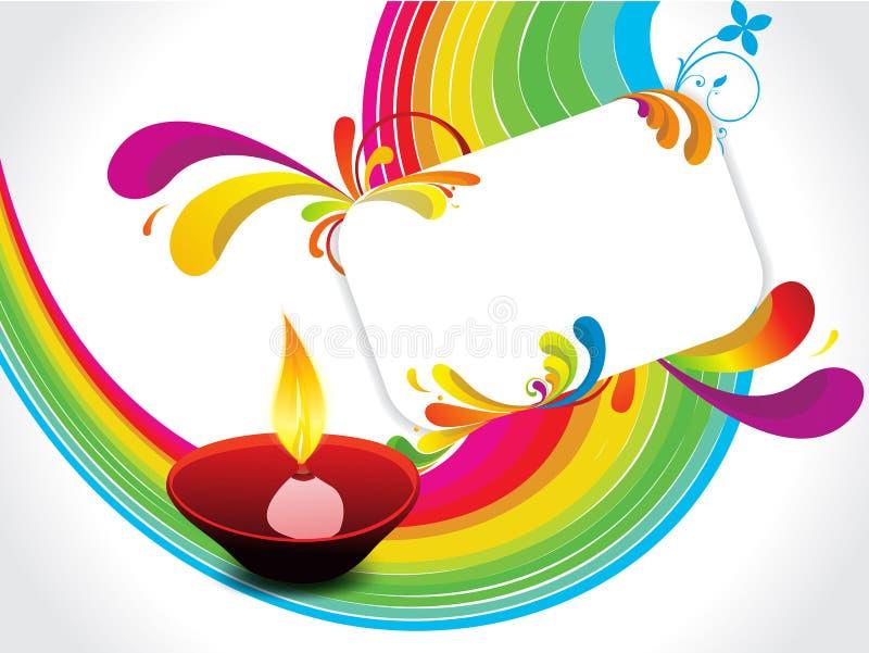 αφηρημένο diwali ανασκόπησης διανυσματική απεικόνιση