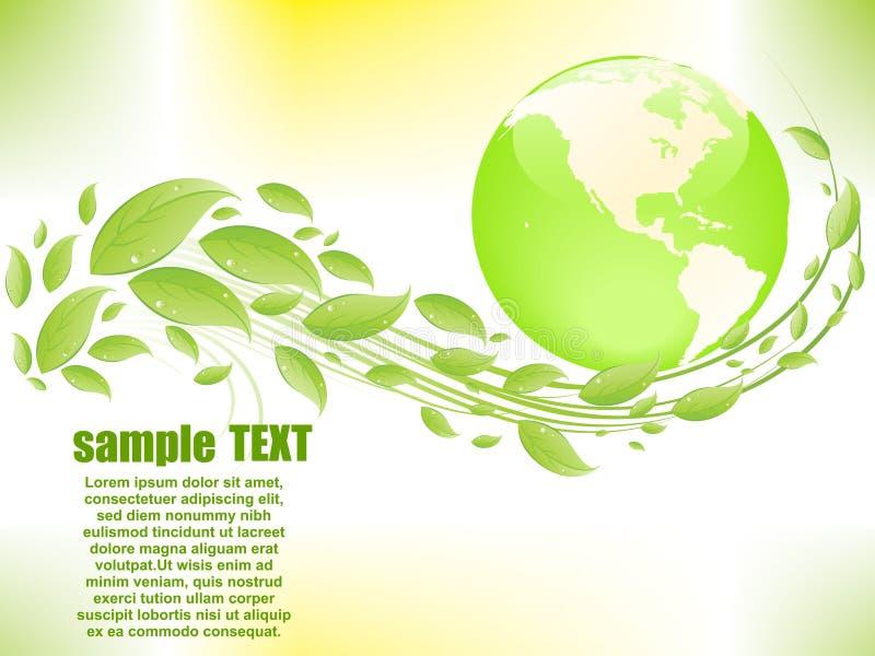 αφηρημένο eco ανασκόπησης ελεύθερη απεικόνιση δικαιώματος