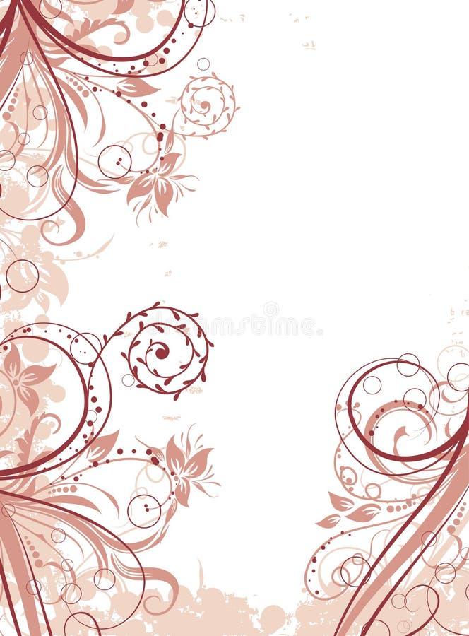 αφηρημένο floral διάνυσμα ανασ&kappa απεικόνιση αποθεμάτων