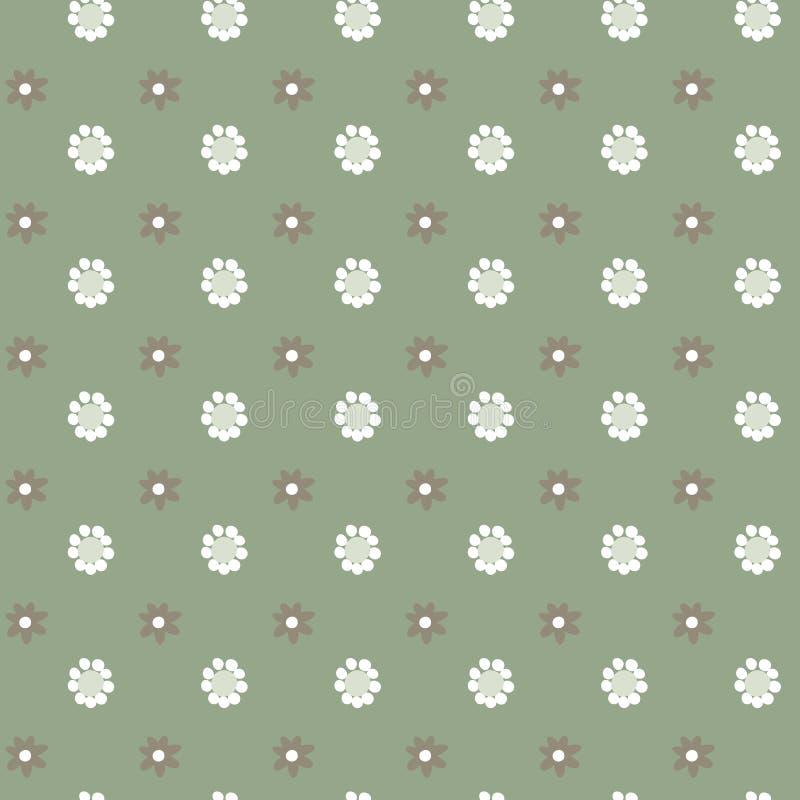 Αφηρημένο floral διανυσματικό άνευ ραφής σχέδιο, απλό υπόβαθρο χρώματος κρητιδογραφιών για το σχέδιό σας απεικόνιση αποθεμάτων