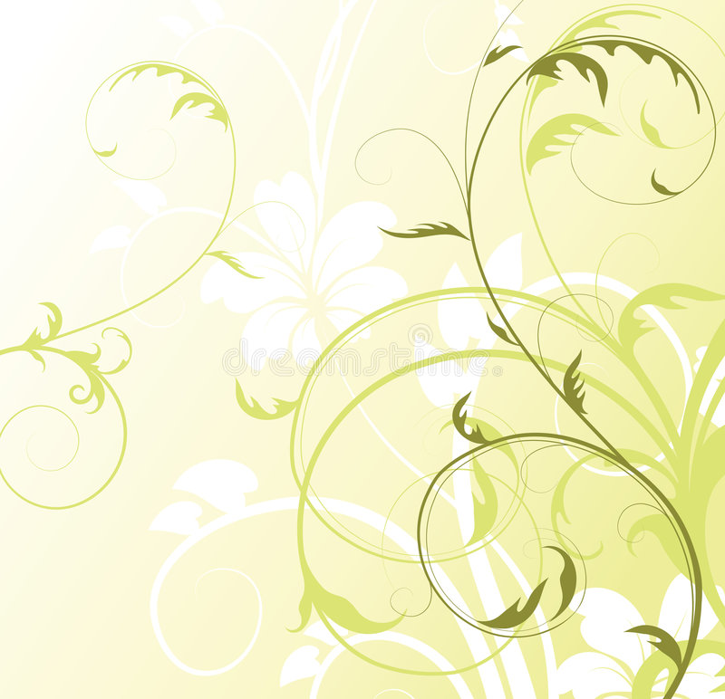 αφηρημένο floral ελεύθερου χώρου te ανασκόπησής σας ελεύθερη απεικόνιση δικαιώματος
