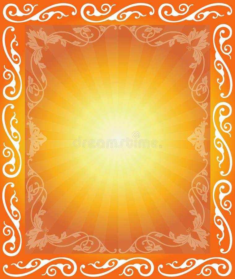 Download αφηρημένο floral πλαίσιο απεικόνιση αποθεμάτων. εικονογραφία από καμπύλη - 2230533