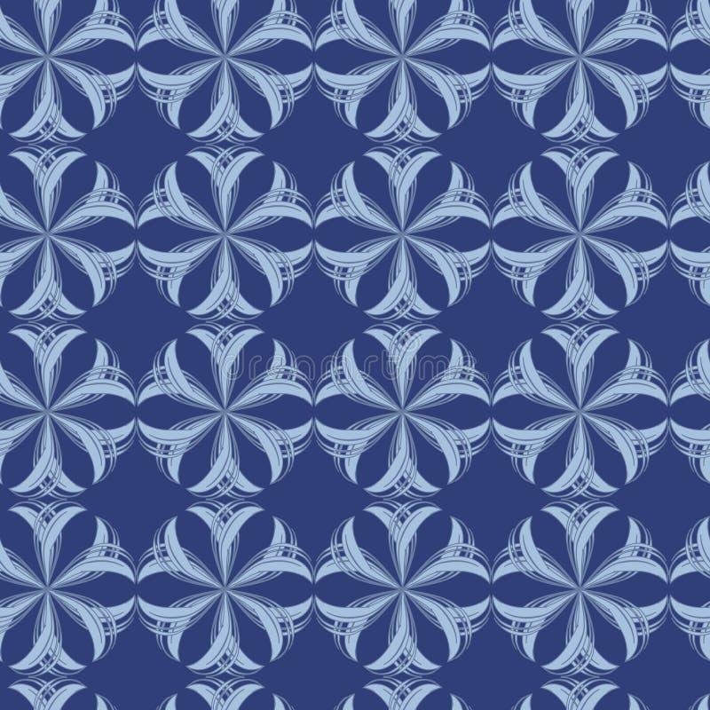 αφηρημένο floral πρότυπο άνευ ρα&ph διανυσματική απεικόνιση