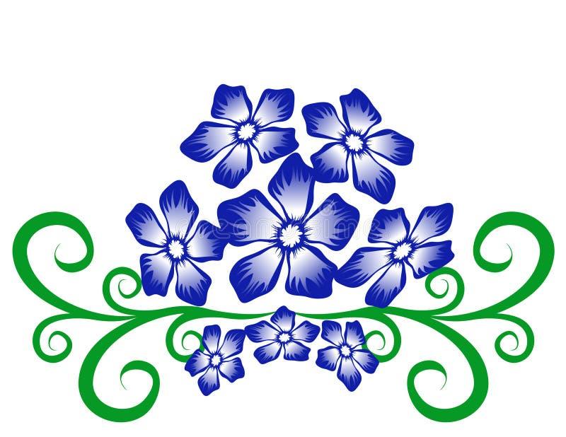 αφηρημένο floral πρότυπο ελεύθερη απεικόνιση δικαιώματος