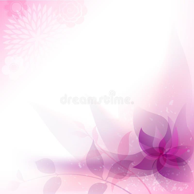 Αφηρημένο Floral υπόβαθρο απεικόνιση αποθεμάτων