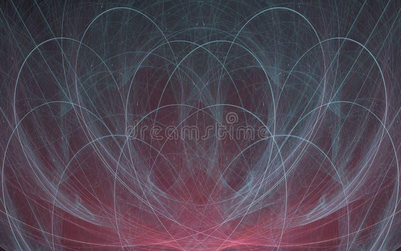 αφηρημένο fractal ανασκόπησης Το στοιχείο σχεδίου για το φυλλάδιο, τις διαφημίσεις, το ιπτάμενο, τον Ιστό και άλλο γραφικό σχεδια ελεύθερη απεικόνιση δικαιώματος