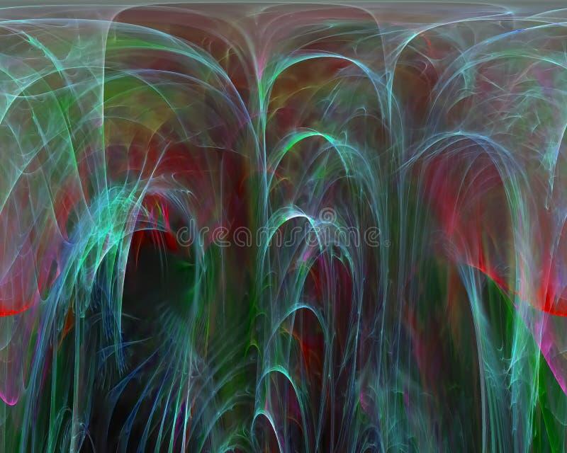Αφηρημένο fractal, διακοσμητικό ελαφρύ δυναμικό σχέδιο προτύπων φαντασίας δημιουργικότητας σχεδίων, στρόβιλος ελεύθερη απεικόνιση δικαιώματος