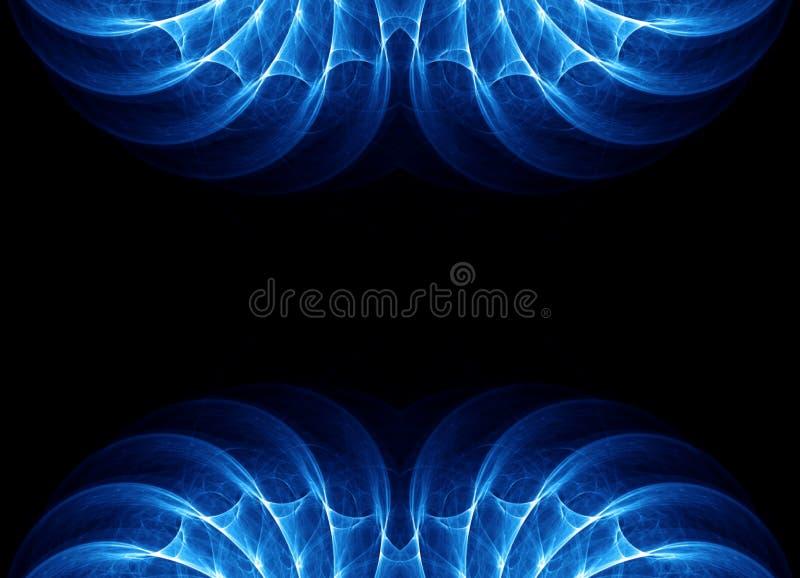 Αφηρημένο fractal πλαίσιο συνόρων στοκ φωτογραφία με δικαίωμα ελεύθερης χρήσης