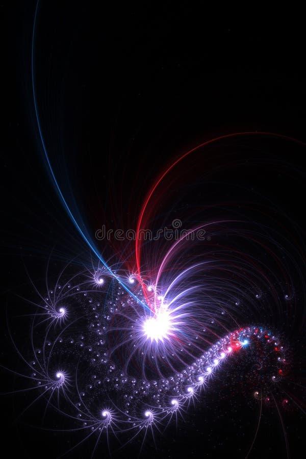 αφηρημένο fractal διανυσματική απεικόνιση