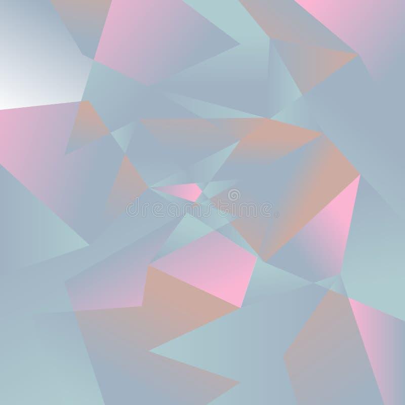 Αφηρημένο hexagon υποβάθρου επίσης corel σύρετε το διάνυσμα απεικόνισης ελεύθερη απεικόνιση δικαιώματος