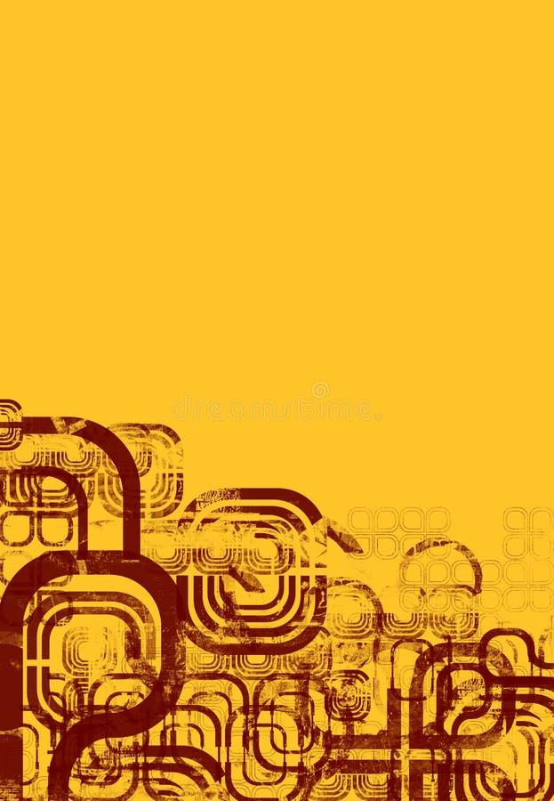 αφηρημένο montage σχεδίου διανυσματική απεικόνιση