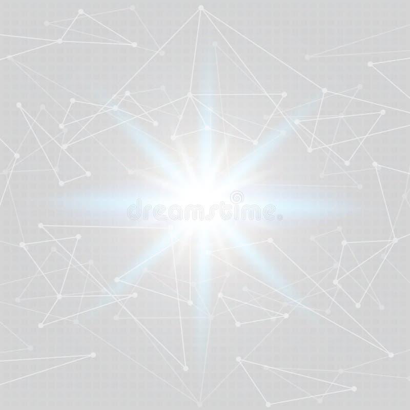 Αφηρημένο polygonal διαστημικό χαμηλό πολυ υπόβαθρο απεικόνιση αποθεμάτων