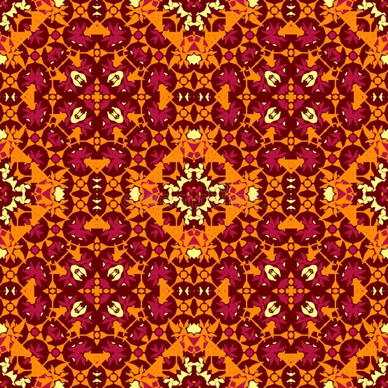 Αφηρημένο psychedelic άνευ ραφής σχέδιο διανυσματική απεικόνιση